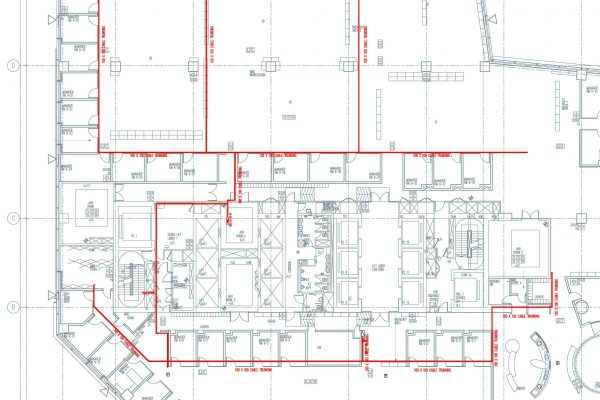 2D MEP Drawings Service M&E Drafting Service for CCTV