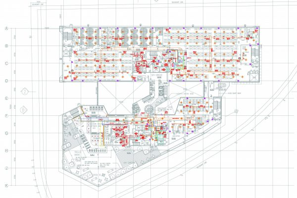 2D MEP Drawings Service M&E Drafting Service for Sanitary & Plumbing