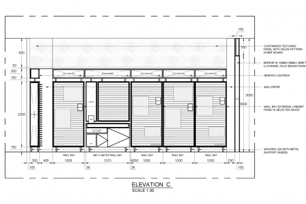 2D Shop Drawings Service for Retail Carpentry