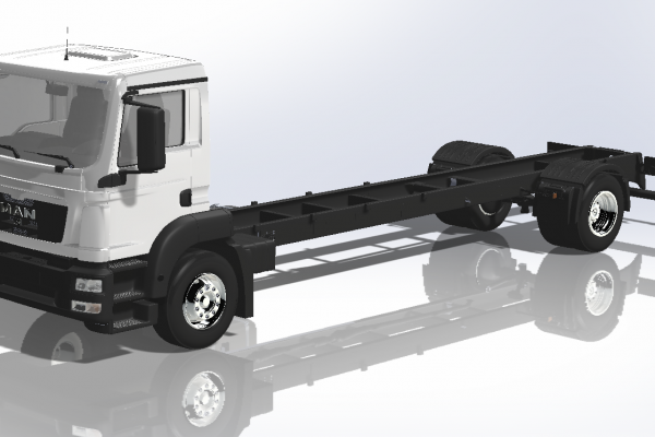 3D Modelling Service & Convert to Solidworks Service of Truck