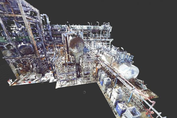 3D Laser Scanning Service or Scan To BIM Service (As Built) for Oil & Gas Industry