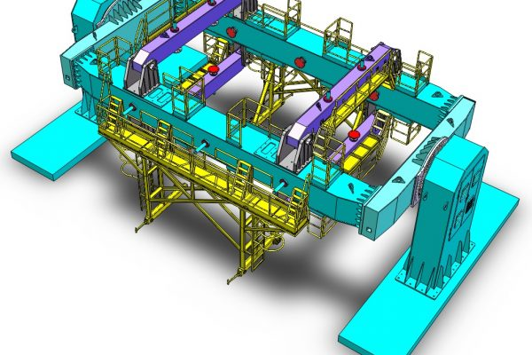 3D Modelling Service & Convert to Solidworks Service for Oil Rig