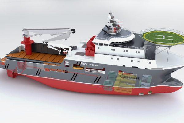 3D Modelling Service for Vessel