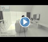 3D Walkthrough Service Animation & Visualization: Scandinavian Living Room