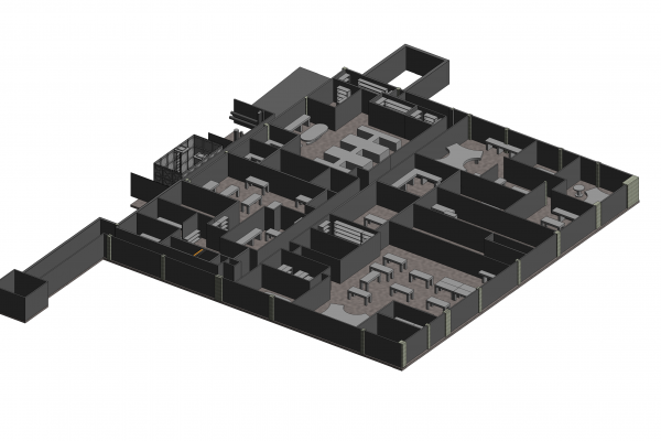 Scan To BIM Service (As Built) for Facility Management