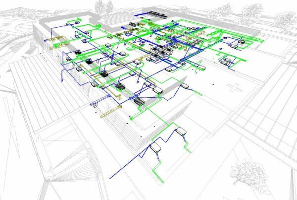 3D BIM Modelling service, BIM Management and Coordination Service