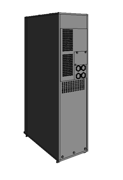 UPS BIM Model 3D