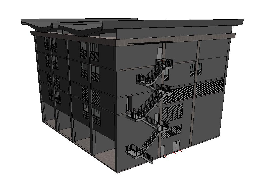 BIM Model Building 3D