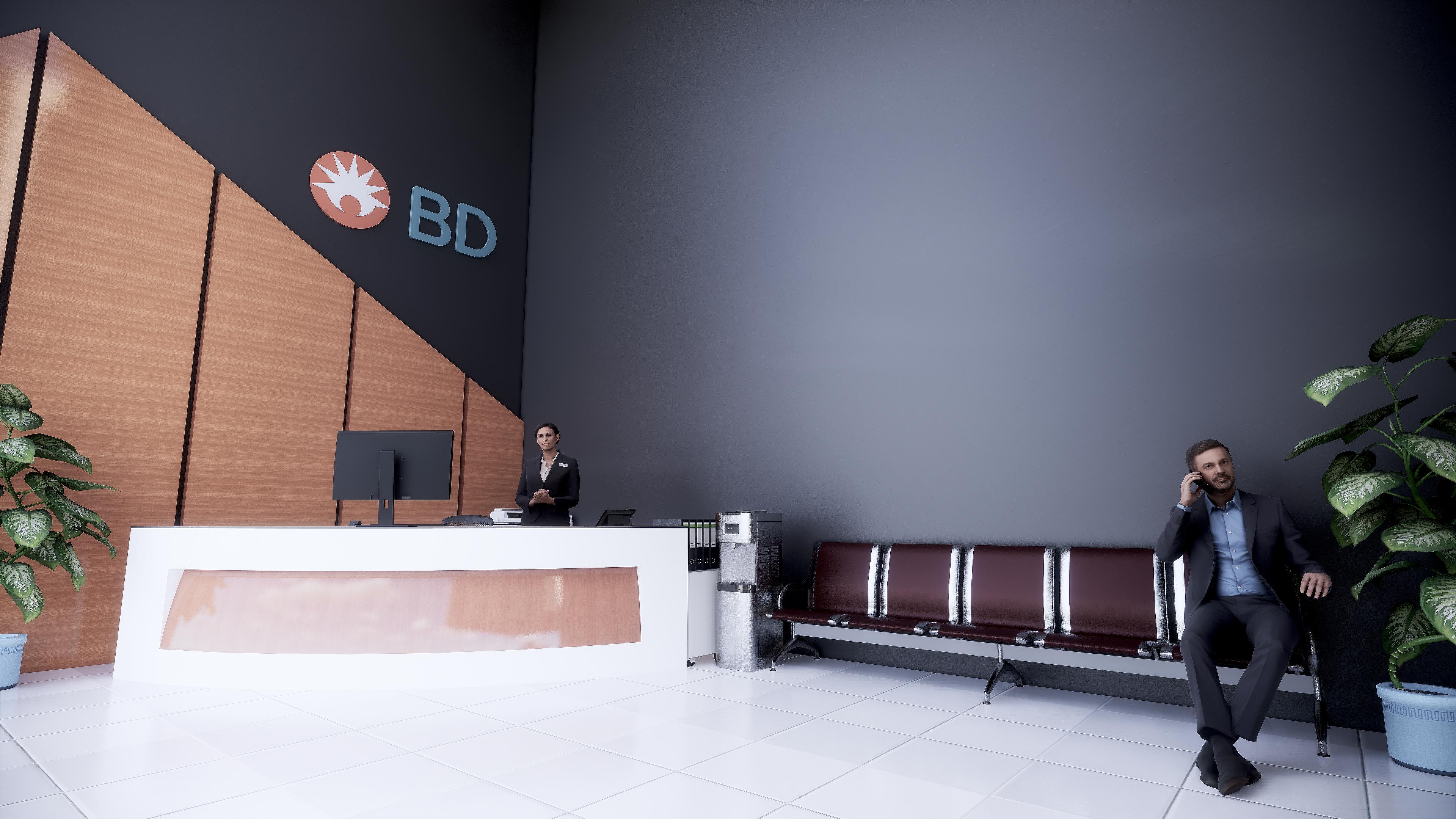 Office 3D Rendering BIM